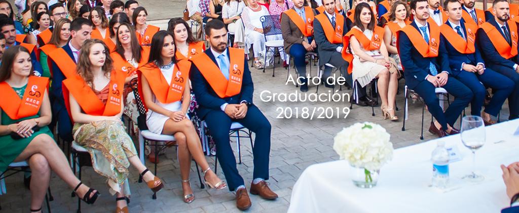 Graduación EXCE 2018/2019